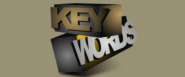 important seo tip choose the right keywords