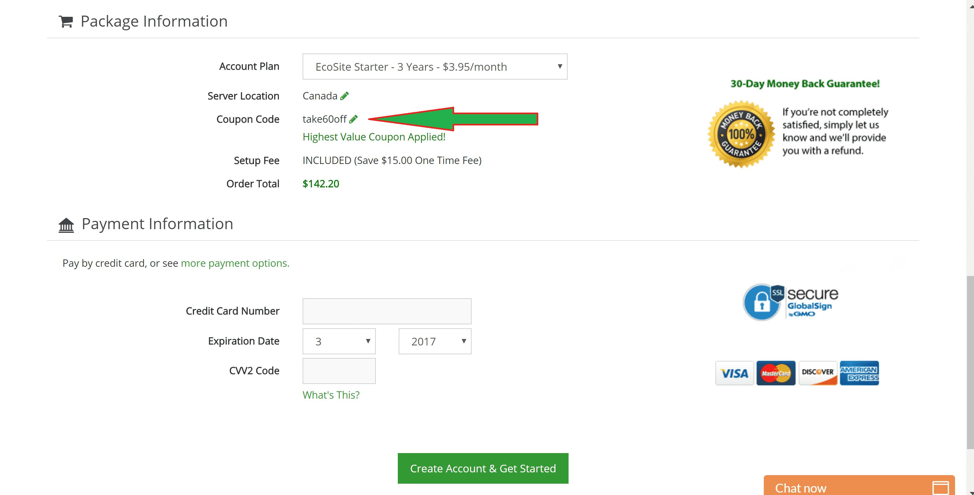 GreenGeeks Coupon Code 60% Discount