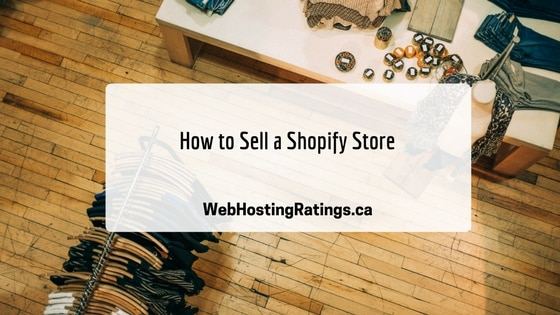 How to Sell a Shopify Store