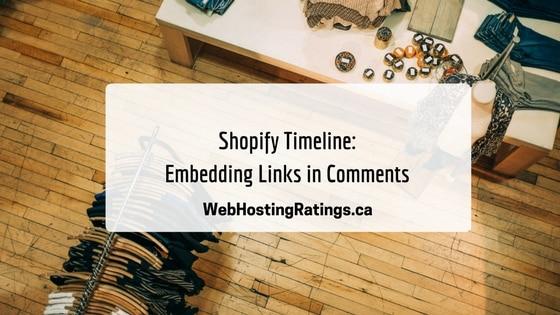 Shopify Timeline: Embedding Links
