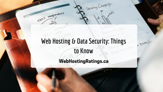 Web Hosting Data Security