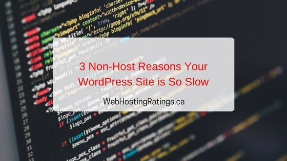 Reasons for Slow WordPress Site