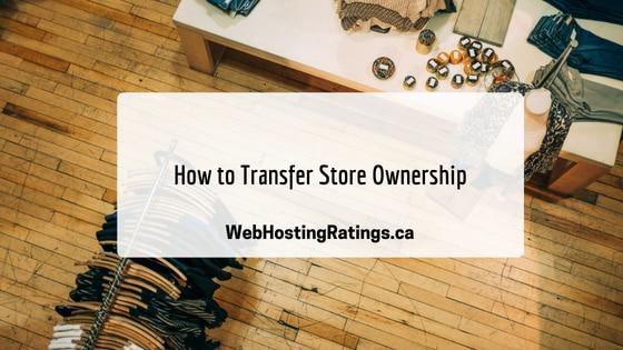 Transfer Shopify Store