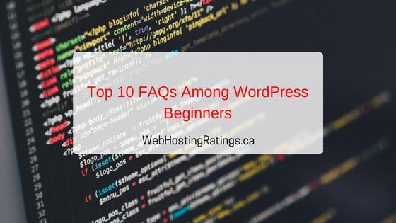 Top 10 FAQ WordPress